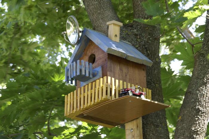 Домики для птичек своими руками